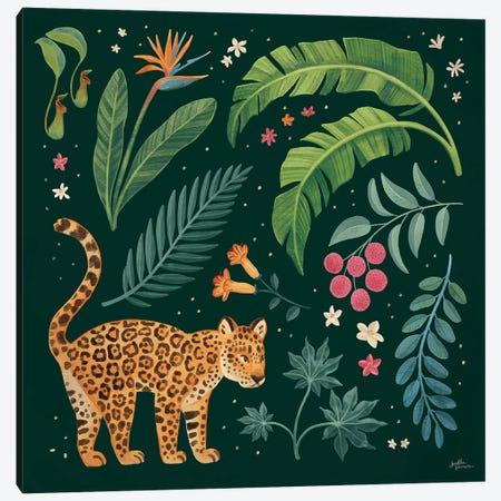 Jungle Love IV Canvas Print #JAP161} by Janelle Penner Canvas Art Print
