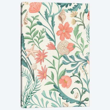 Seaside Botanical I Canvas Print #JAP171} by Janelle Penner Canvas Art