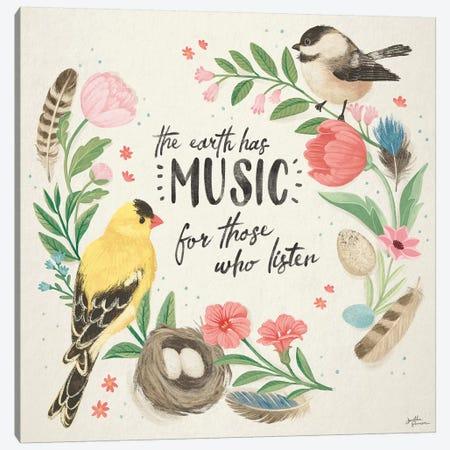 Bird Study IV Canvas Print #JAP179} by Janelle Penner Canvas Art