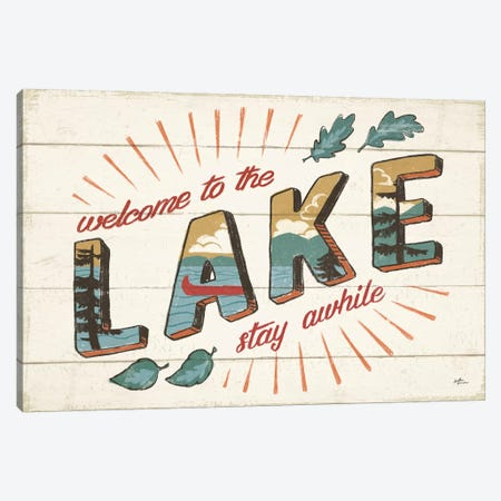Vintage Lake I Canvas Print #JAP17} by Janelle Penner Canvas Art Print