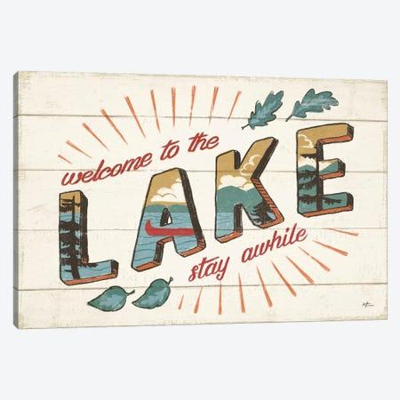 Vintage Lake I Canvas Print #JAP17} by Janelle Penner Canvas Art Print