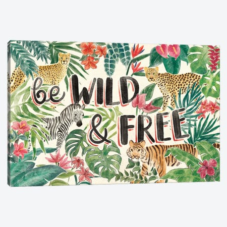 Jungle Vibes I Canvas Print #JAP18} by Janelle Penner Canvas Art