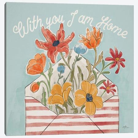 Spiced Petals V Canvas Print #JAP194} by Janelle Penner Art Print
