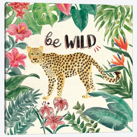 Jungle Vibes III Canvas Print #JAP20} by Janelle Penner Canvas Art Print