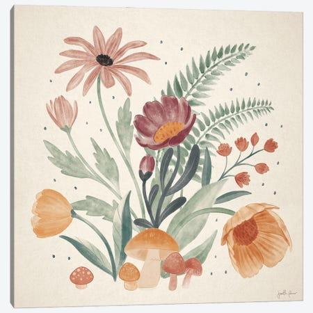 Cottage Botanical III Canvas Print #JAP215} by Janelle Penner Canvas Artwork