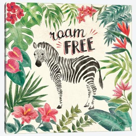 Jungle Vibes IV Canvas Print #JAP21} by Janelle Penner Art Print