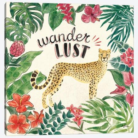 Jungle Vibes V Canvas Print #JAP22} by Janelle Penner Art Print