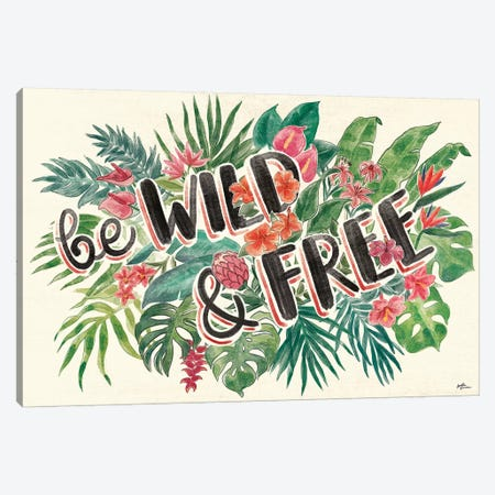 Jungle Vibes VI Canvas Print #JAP23} by Janelle Penner Canvas Art Print