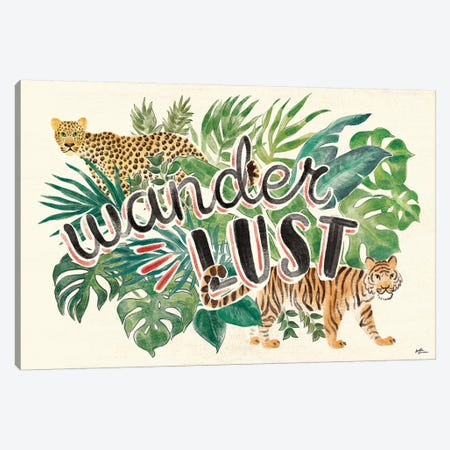 Jungle Vibes VII Canvas Print #JAP24} by Janelle Penner Canvas Artwork