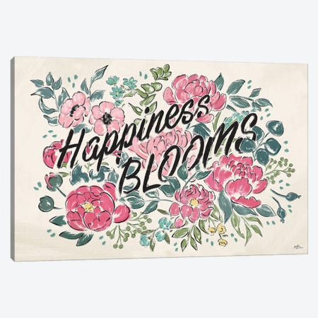 Live in Bloom I Canvas Print #JAP25} by Janelle Penner Canvas Art