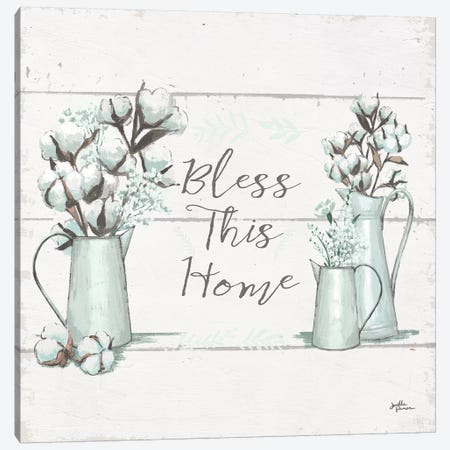 Blessed I.II  Square 3-Piece Canvas #JAP42} by Janelle Penner Art Print