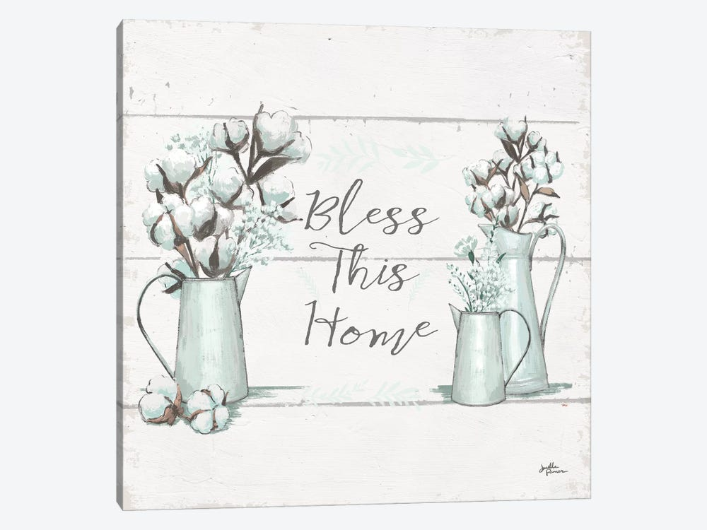 Blessed I.II  Square by Janelle Penner 1-piece Canvas Artwork