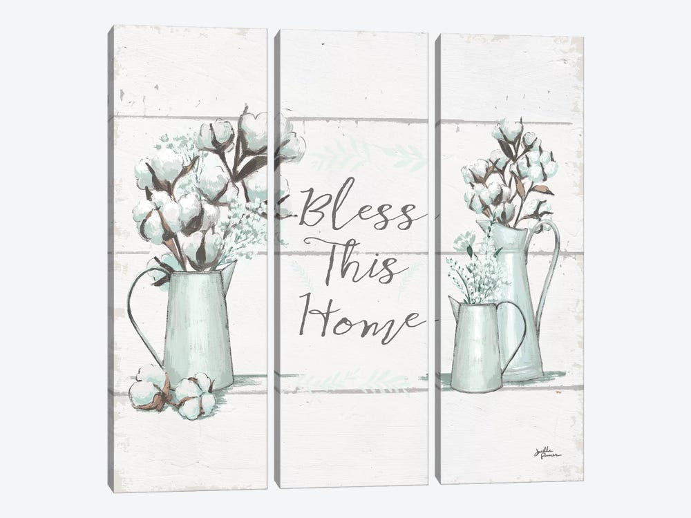 Blessed I.II  Square by Janelle Penner 3-piece Canvas Art