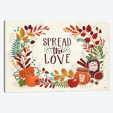 Spread the Love I Canvas Print #JAP45} by Janelle Penner Canvas Artwork