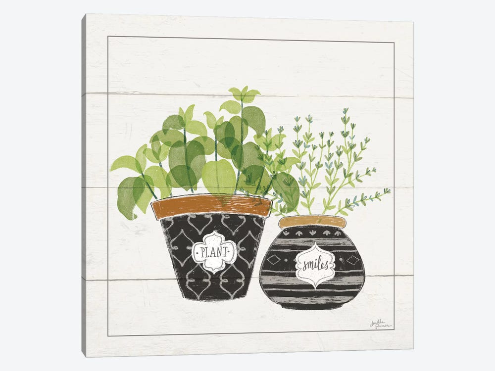 Fine Herbs V Smiles by Janelle Penner 1-piece Canvas Art Print