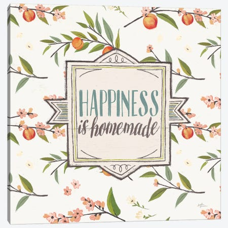 Sweet Life VI White Canvas Print #JAP52} by Janelle Penner Canvas Artwork