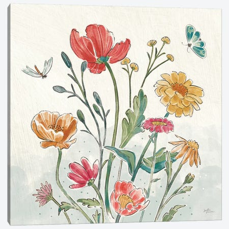 Boho Field II Canvas Print #JAP56} by Janelle Penner Canvas Art Print