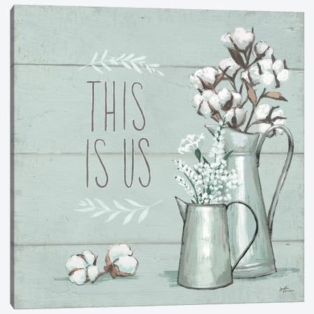 Blessed V - This is Us Canvas Print #JAP6} by Janelle Penner Canvas Wall Art