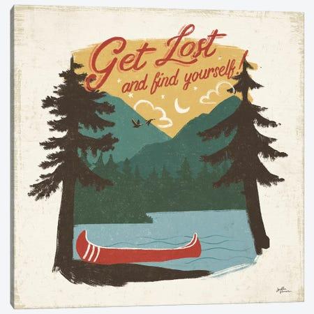Vintage Lake V No Lines 3-Piece Canvas #JAP72} by Janelle Penner Canvas Artwork