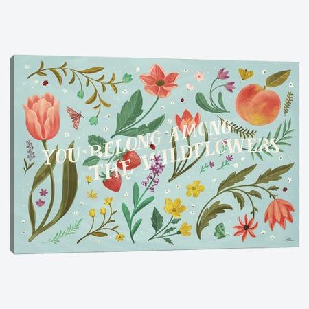 Spring Botanical IV Canvas Print #JAP74} by Janelle Penner Canvas Art Print