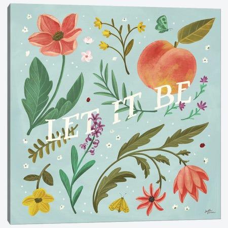 Spring Botanical V Canvas Print #JAP76} by Janelle Penner Canvas Art Print