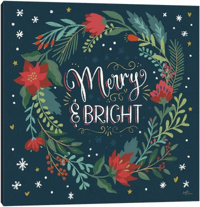 Christmas Bloom III Canvas Art Print