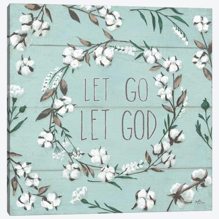 Blessed VII - Let Go, Let God Canvas Print #JAP8} by Janelle Penner Canvas Art Print