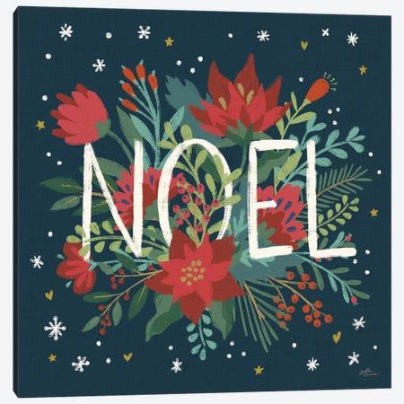 Christmas Bloom VII Canvas Print #JAP91} by Janelle Penner Canvas Art