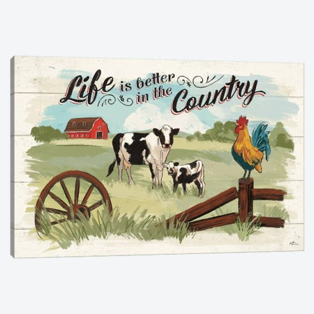 Farm Life I Canvas Print #JAP9} by Janelle Penner Canvas Print