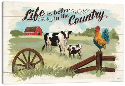 Farm Life I Canvas Art Print