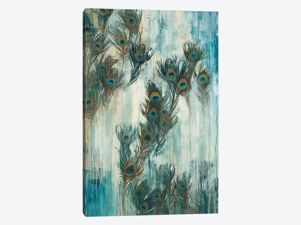 Proud As A Peacock by Liz Jardine 1-piece Canvas Art Print
