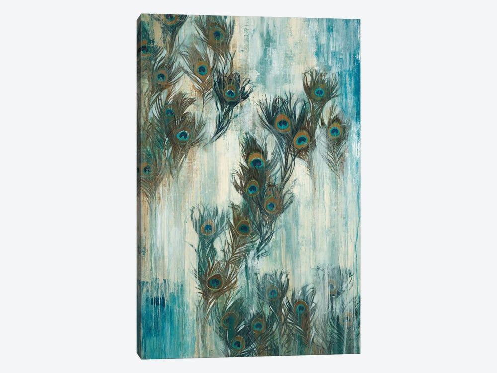 Proud As A Peacock by Liz Jardine 1-piece Canvas Art Print