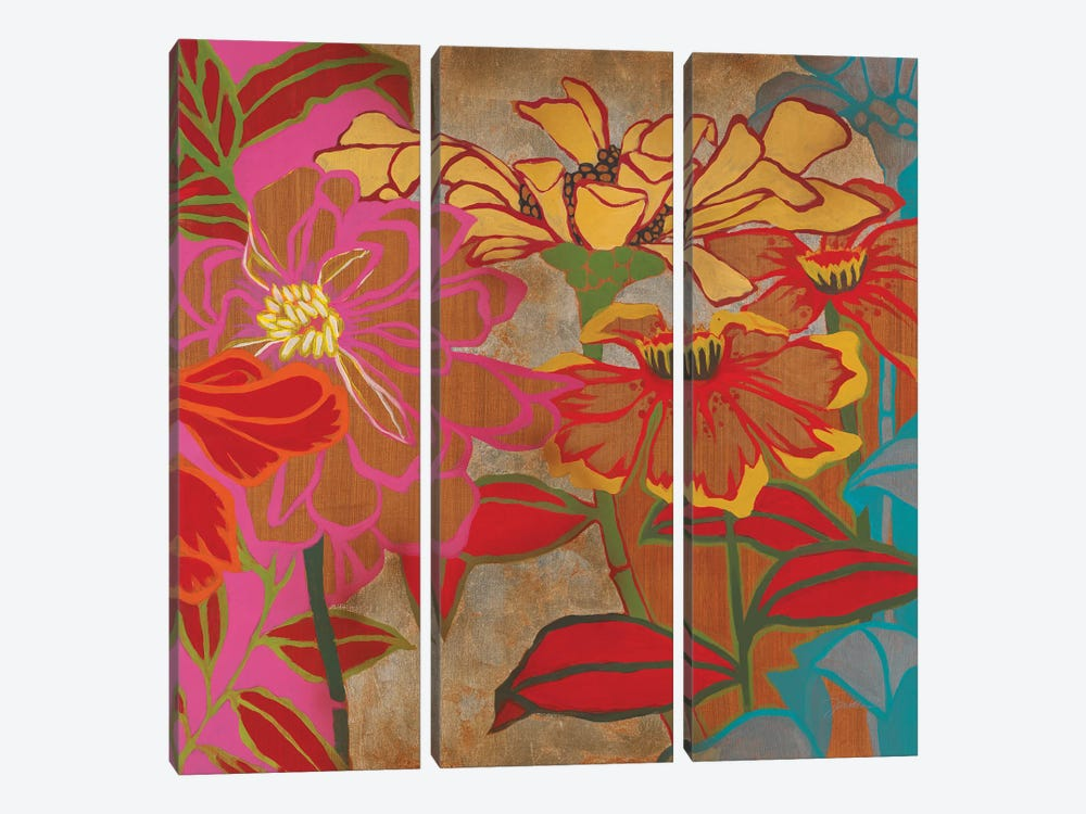 Pure Color by Liz Jardine 3-piece Canvas Art