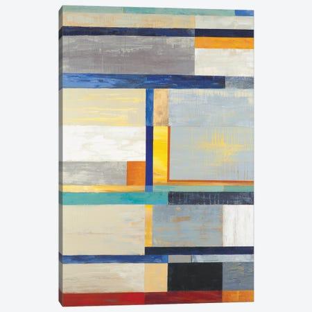 Retro Spectrum Canvas Print #JAR102} by Liz Jardine Canvas Art
