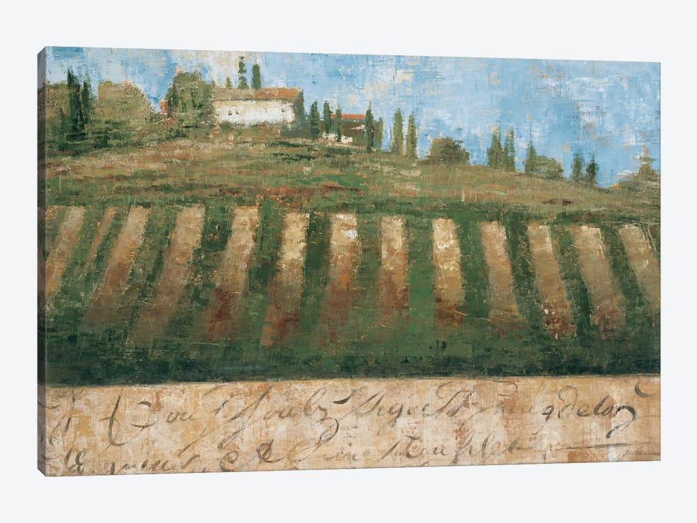 Rustic Tuscany by Liz Jardine 1-piece Canvas Art Print