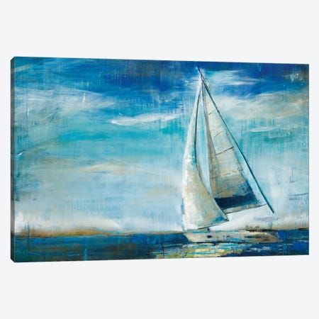 Sail Away Canvas Print #JAR105} by Liz Jardine Art Print