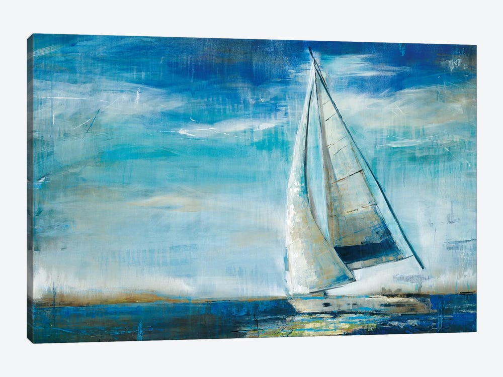 Sail Away by Liz Jardine 1-piece Canvas Artwork