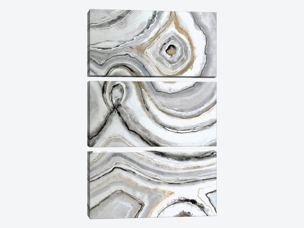 Shades Of Gray I by Liz Jardine 3-piece Art Print