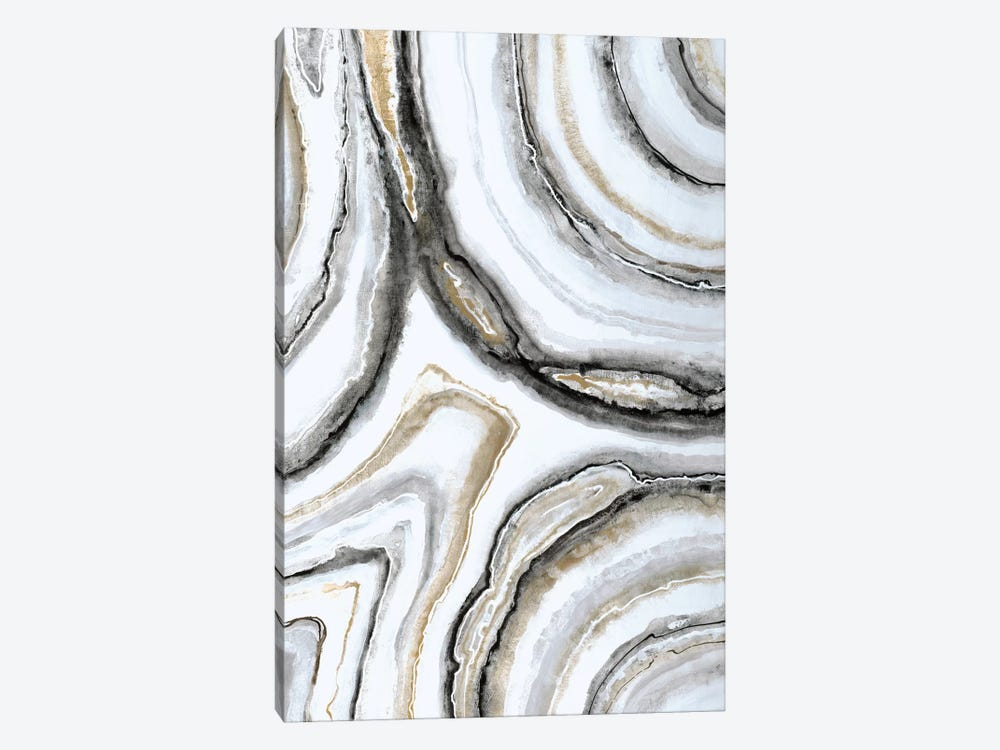 Shades Of Gray II by Liz Jardine 1-piece Canvas Wall Art