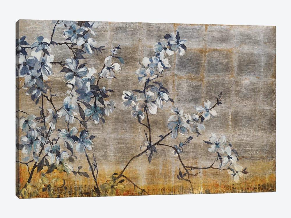 Silver Dogwood by Liz Jardine 1-piece Canvas Wall Art