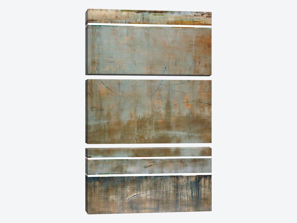 Spa Bandwidth by Liz Jardine 3-piece Canvas Print