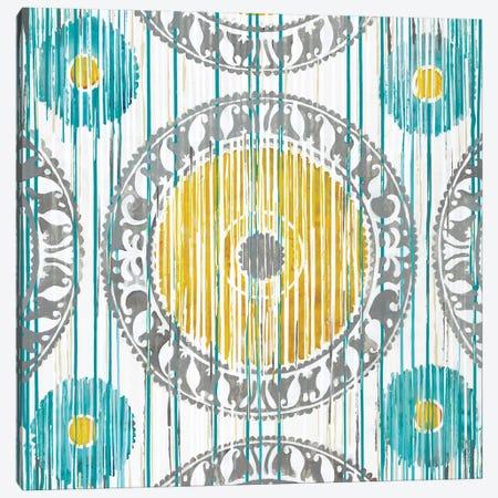 Spring Ikat Canvas Print #JAR117} by Liz Jardine Canvas Wall Art