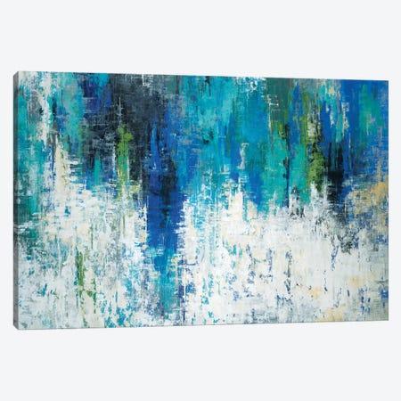 Surface Of The Lake Canvas Print #JAR120} by Liz Jardine Canvas Art