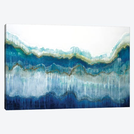Surf's Up Canvas Print #JAR121} by Liz Jardine Canvas Art