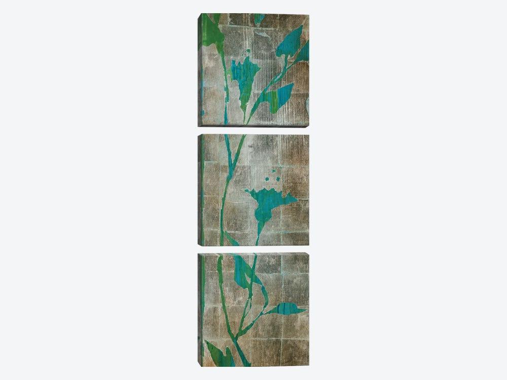 Transparent Leaves I by Liz Jardine 3-piece Canvas Art Print