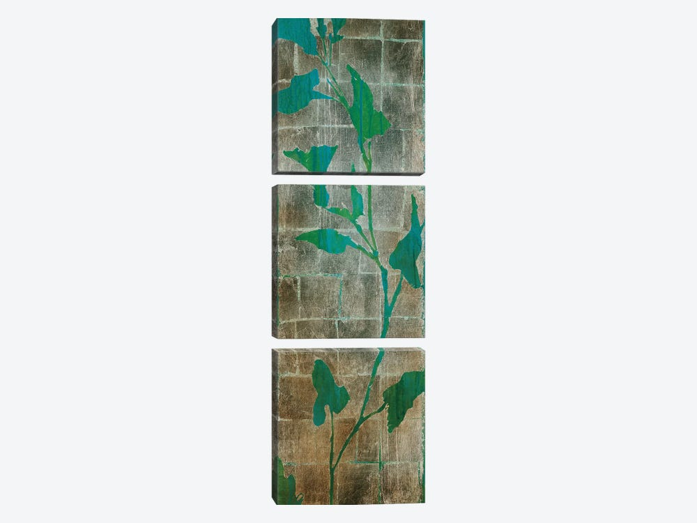 Transparent Leaves II by Liz Jardine 3-piece Canvas Artwork