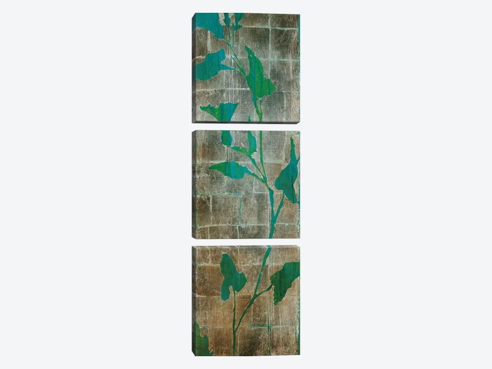 Transparent Leaves II by Liz Jardine 3-piece Canvas Artwork