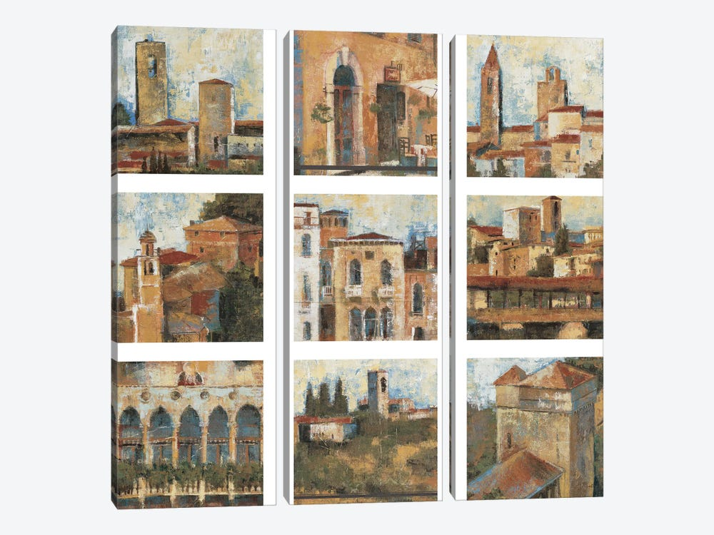 Tuscan Series 3-piece Canvas Art