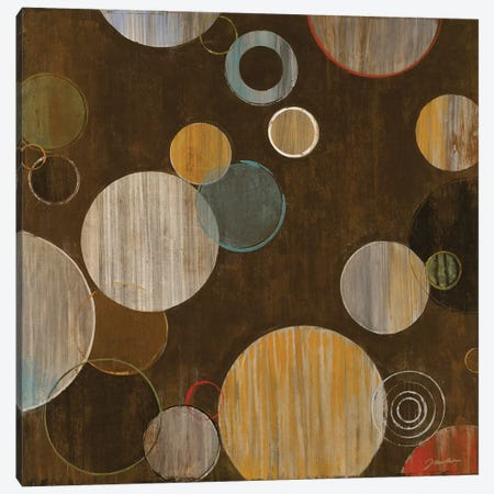 Warm Bubbles Canvas Print #JAR134} by Liz Jardine Canvas Wall Art