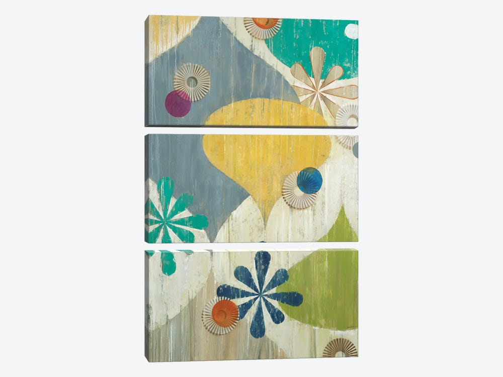Asterisk by Liz Jardine 3-piece Canvas Print
